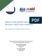 Krisis Global Dampaknya Thd Gizi