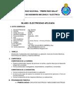 Silabo -ELECRIDAD APLICADA