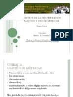 Gestion de Configuracion -Gestion de Metricas