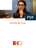 Intercontinental Hotels and Resorts Problem Handling Workbook LASP
