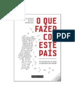 O Que Fazer Com Este País, Ricardo Paes Mamede