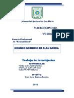 Segundo Gobierno de Alan Garcia Perez Macroeconomia