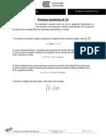 ENUNCIADO Producto Académico N 03 Cálculo II