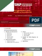 Semana 03 - Programacionde Obra - Sistemas de Programación