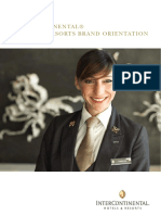Intercontinental Hotels and Resorts Brand Orientation Manual