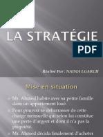 Définition Simplifiée de La Notion Stratégie