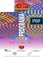 1 Programa Festival de las Artes - 16 páginas