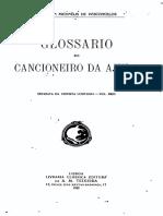 123369326 Glossario Do Cancioneiro Da Ajuda Por Carolina Michaelis