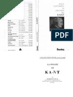 Georges Pascal - Pour Connaitre La Pensee de Kant (1966, Bordas)