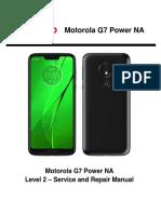Motorola G7 Power NA Service and Repair Manual