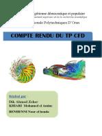 Compte Rendu Tp CFD