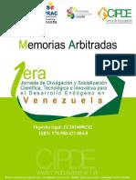 Memorias 1eras Jornadas CIPDE 2016