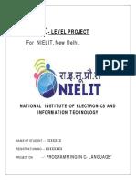 o level project  C Language.pdf