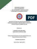 162765873 Analisis de Los Tipos de Curvas de Declinacion de Produccion