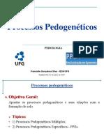 Processos pedogenéticos