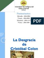 Diapositiva - La Desgracia de Colon