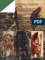 Codex Adeptus Custodes Draft