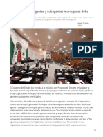 Formato7.Com-Remuneración a Agentes y Subagentes Municipales Debe Ser Obligatoria