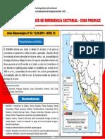 Aviso Meteorológico N° 082- 12 JUNIO 2019 Precipitaciones en la Sierra
