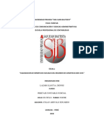 Liquidacion de Beneficios Sociales - Peritaje