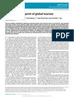Huella de carbono y turismo global
