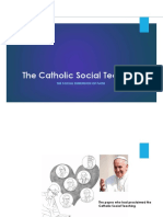 The Social Dimension of Faith