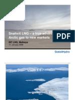 2008 01 17 Snøhvit LNG – INT LNG [Read-Only]