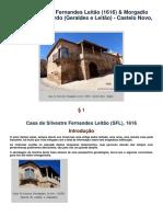 Casa de Silvestre Fernandes Leitão