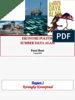 Faisal Basri - Ekonomi Politik SDA
