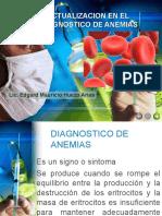 actualizacion en el diagnostico de anemias f-121122132955-phpapp02
