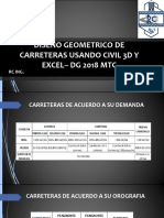 trazo de gradiente DISEÑO GEOMETRICO DE CARRETERAS – DG 2018 MTC.pdf