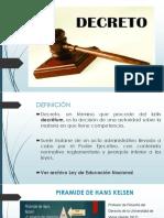 DECRETO(1)