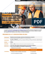 03 Convocatoria OEA-Structuralia 2019