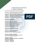 Especificaciones Tecnicas Grupo 2