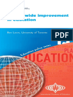 Ben Levin System wide improvement in education.pdf
