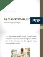 La Dissertation Juridique
