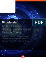 Bitdefender WhitePaper an APT Blueprint Gaining New Visibility Into Financial Threats Interactive