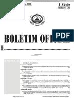 Decreto Lei Sistema AVAL. Institucional AA-AE Em Cabo Verde
