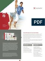 Xyngular Ignite Weightloss Brochure Plan Spanish