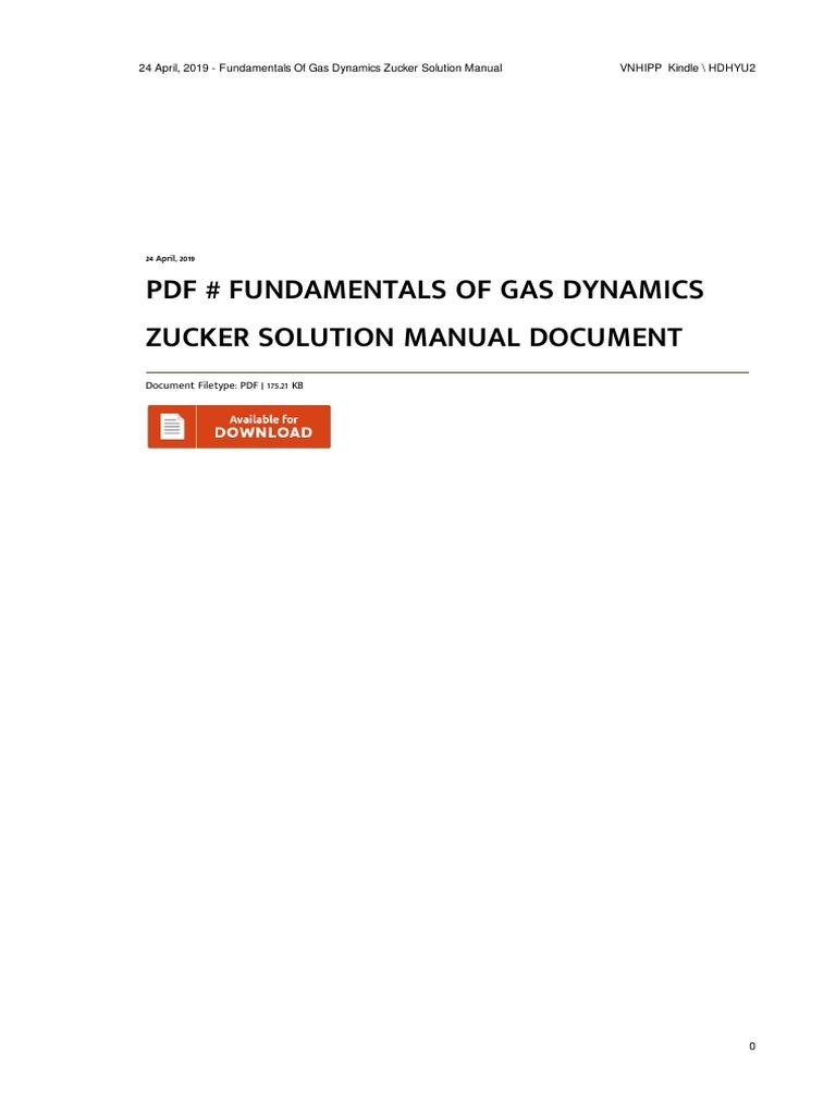 Fundamentals of Gas Dynamics Books Engineering letsbookmypg.com