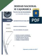 Informe de Diseño de Geomenbranas