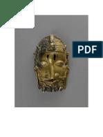 Mascara de Osu (Osanyin de Edo Benin)