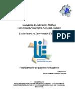 Financiamiento Proyectos Educ