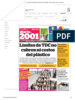 Periódico 2001 - Dosmiluno (Venezuela). Periódicos de Venezuela. Toda La Prensa de Hoy. Kiosko.net445451165