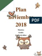 Planeación noviembre.