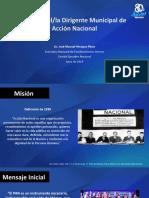 Curso para Aspirantes a Dirigentes Municipales del PAN Tema_5_Misión del Dirigente Municipal JMHP