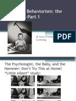 Chap 10-Narrada-Parte 1-Chapter 10 Behaviorism