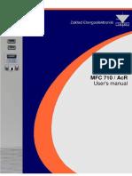 MFC 710-AcR User Manual - Twerd - 2013
