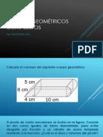 Cuerpos Geométricos Compuestos