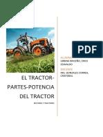El Tractor Partes Potencia